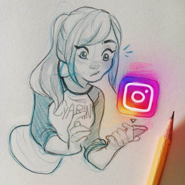 I actually really like the new instagram logo! Art by Cyarin #SundayFunday #BIZBoost