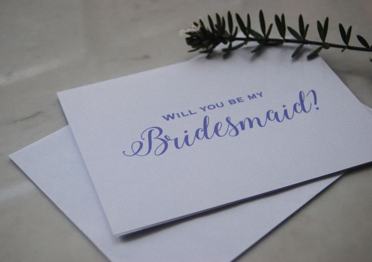 Will you be my Bridesmaid   Will you be my maid of honour   Bridesmaid card   Be my bridesmaid greeting card   Personalized Wedding Card