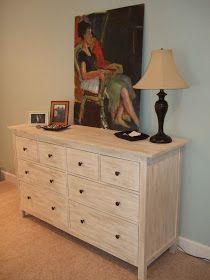 Ikea Hemnes dresser resurfaced