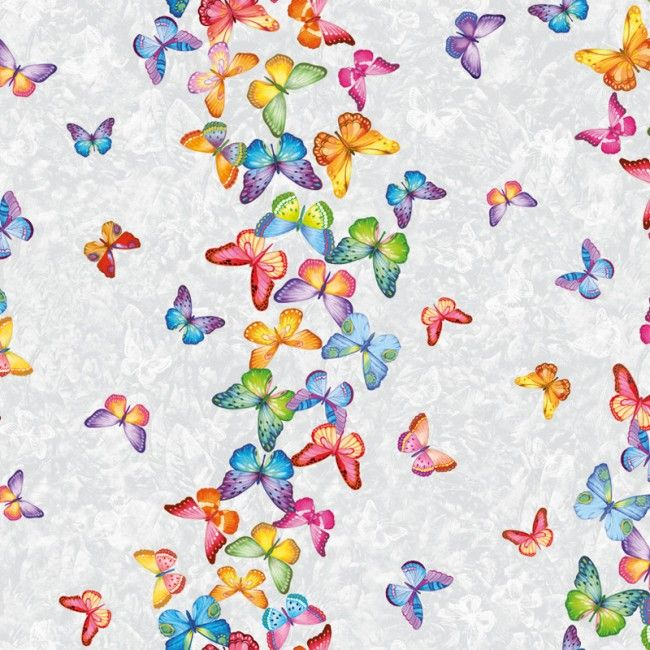 Tafelzeil Butterfly Multi