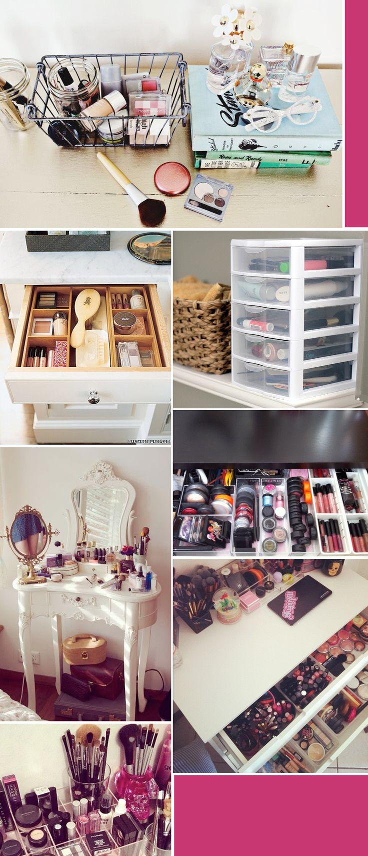 Make up and toiletries storage