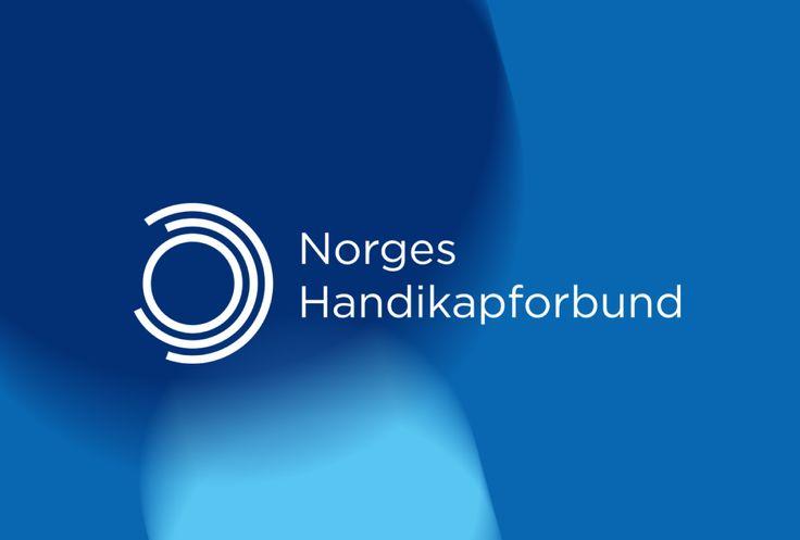 Norges Handikapforbund - The Norwegian Association of Disabled identity design @tangramdesign