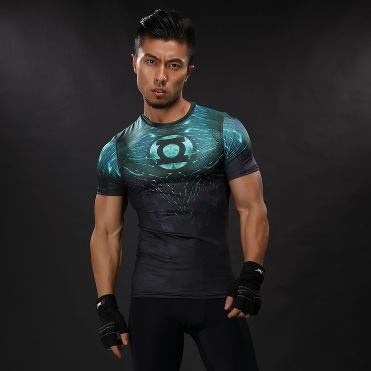 Green Lantern Compression Shirt //Price: $20.00 & FREE Shipping //     #avengers #justiceleague #superman #spiderman