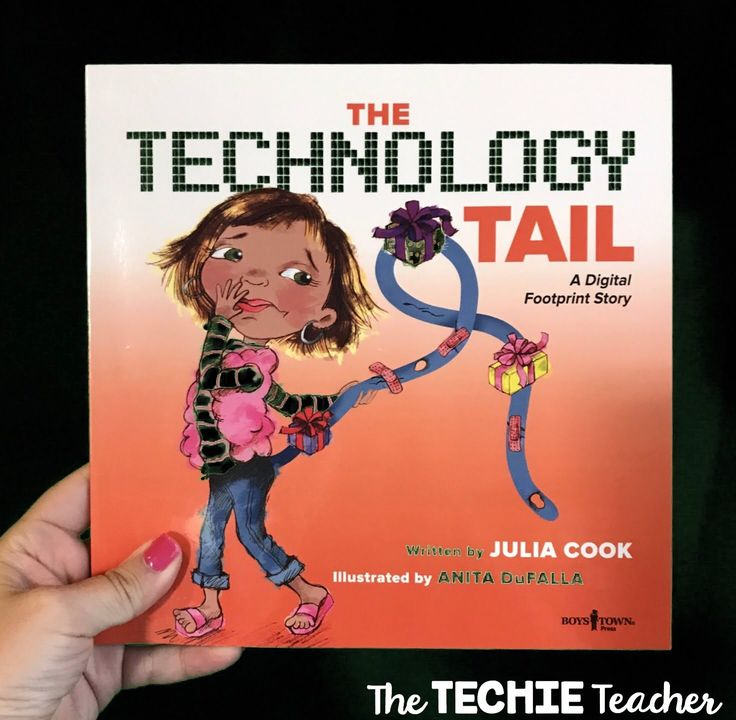 A technology themed read aloud about the importance of being aware of your digital footprint. Great for a digital citizenship lesson!