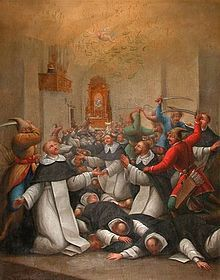 Dominican Order - Wikipedia, the free encyclopedia  Dominican martyrs killed by Mongols during the second Mongol invasion of Poland in 1260.