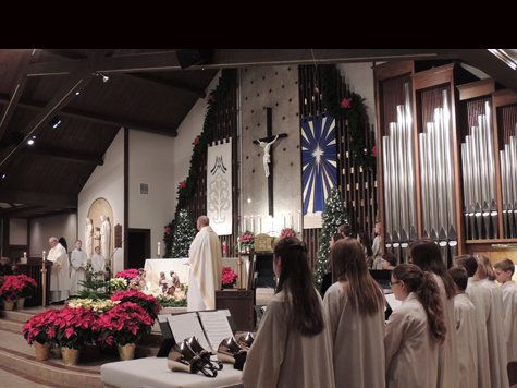 St. Monica Parish and School // Creve Coeur MO -- my church :)
