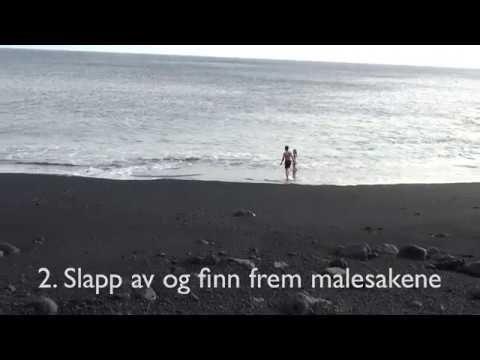 En kortfilm om det å male ved havet - YouTube