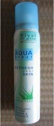 #Kosmetik #Tierversuchsfrei #Inhaltsstoffe #Rival de #Loop Aqua Spray mit #Aloe #Vera vitalisiert, hydriert und erfrischt Gesicht und Dekolleté. Das Aquaspray ist die optimale Kombination aus Erfrischung und Pflege. Aloe Vera versorgt die Haut intensiv mit Feuchtigkeit und lässt sie sichtbar frischer und strahlender aussehen. Ideal auch auf Reisen.