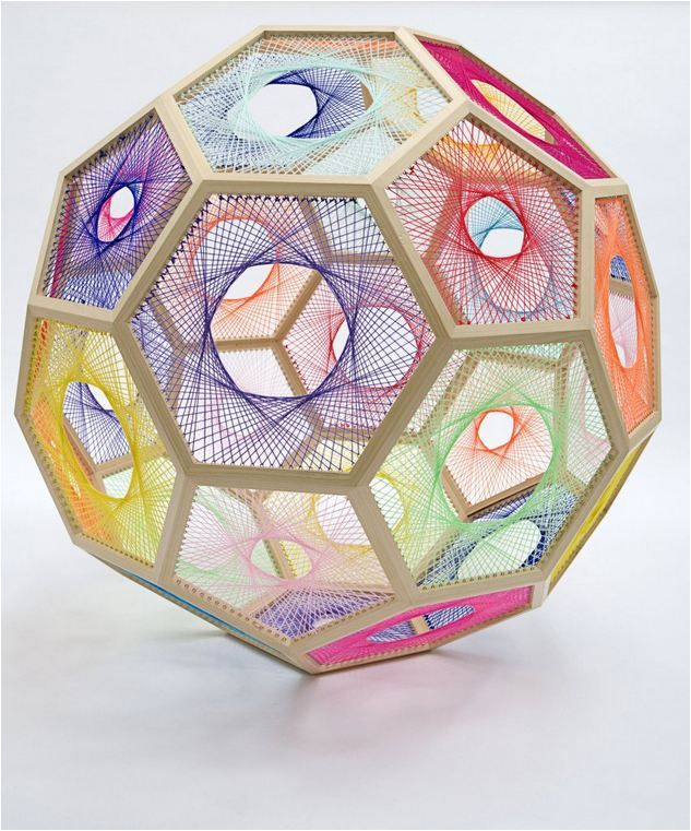 Geometric Sculptures Formed with Mathematical Equations - My Modern Metropolis