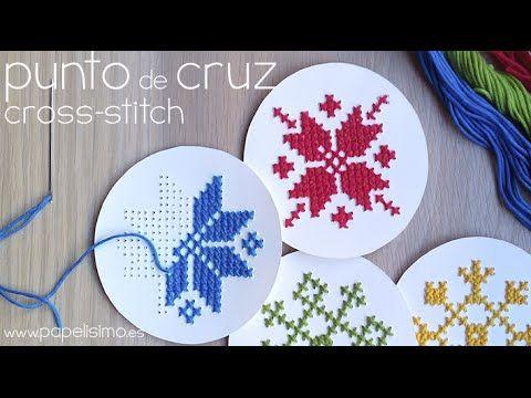 1000 images about bordado en punto cruz on pinterest - Como hacer punto de lana para principiantes ...