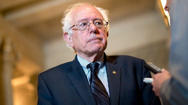 """Sanders also said he would raise the corporate tax rate, the highest in the developed world, even as the White House and many Republicans push to lower it. Sanders also said he wanted to close loopholes.   """"If you look at the collective percentage of revenue coming in from corporations today, it is significantly lower than it was back in the 1950s,"""" he said. """"I think it's about 10 percent today."""""""