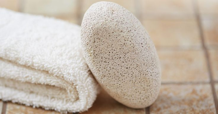 A pumice stone -- a small block of lightweight, hardened lava foam -- sloughs off tough, dry skin and dead skin cells, usually from the feet, elbows or knees. Although regular use of a pumice stone two to three times every week improves the appearance of the skin, it also relieves discomfort caused by calluses. Use a pumice stone gently and be...
