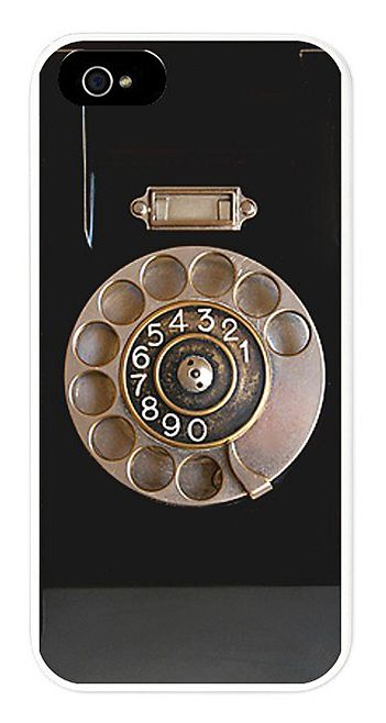 Retro rotary phone // iPhone case