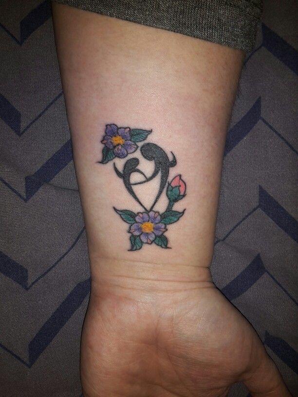 Moeder dochter  tattoo.