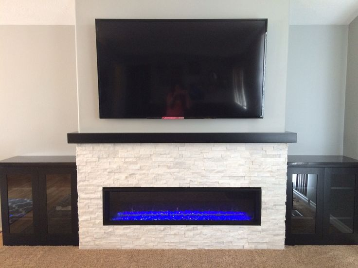 linear fireplace remodel - Fireplace Surround Ideas