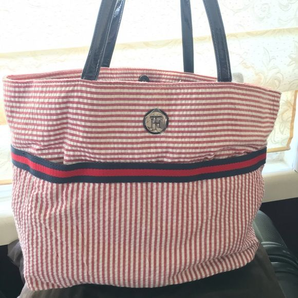 Tommy Hilfiger tote bag TH tote bag. No trades. Tommy Hilfiger Bags Totes