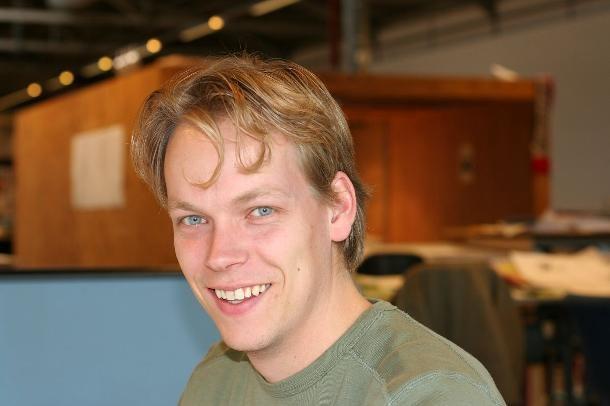 Renze Evenhuis, architect at Broekbakema