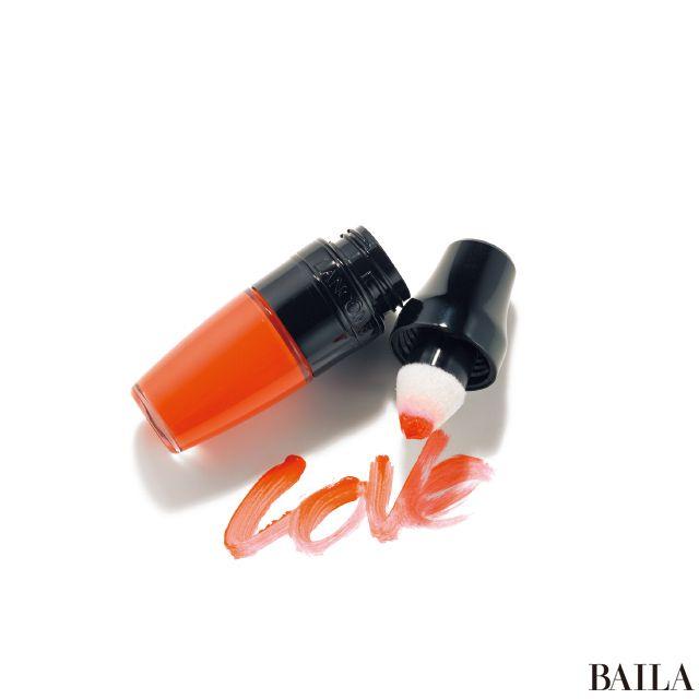 【新発売】マットなサンキストオレンジの唇がずっと長続き! LANCÔMEの「マット シェイカー 186」-@BAILA