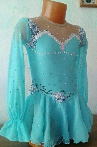 Золушка платье для фигурного катания для