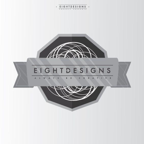 Eight designs Badge no2