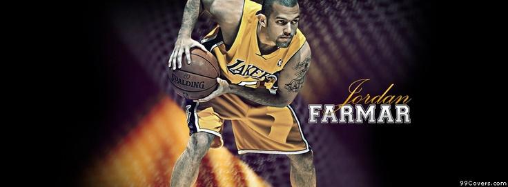 Los Angeles Lakers Jordan Farmar Facebook Covers