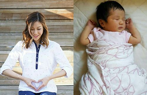 Linda Chung officially announces the birth of her daughter, Kelly!