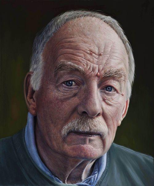 Victor Harris Jeff Oil on canvas 50x60cm
