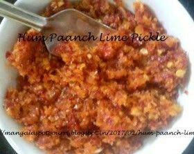 Hum Paanch #limepickle #recipe @ http://mangalaspotpourri.blogspot.in/2017/02/hum-paanch-lime-pickle.html?m=1