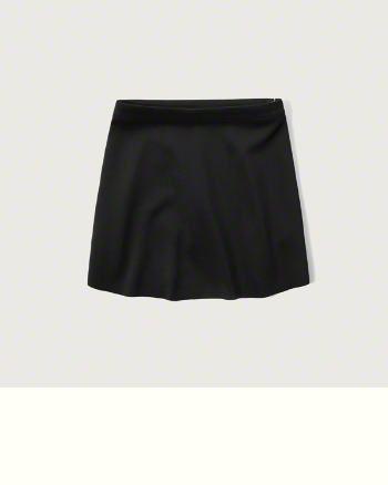 Womens Neoprene Mini Skirt