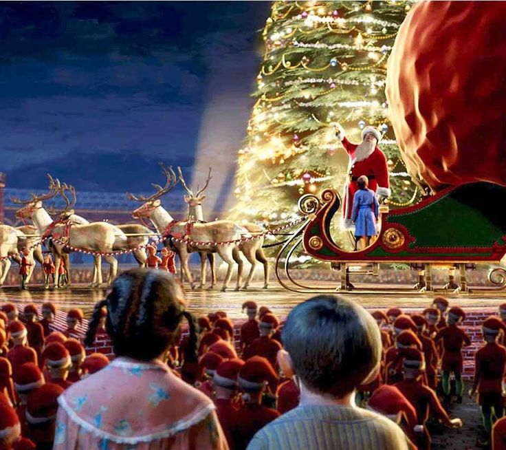 The Polar Express. My favorite Christmas movie!