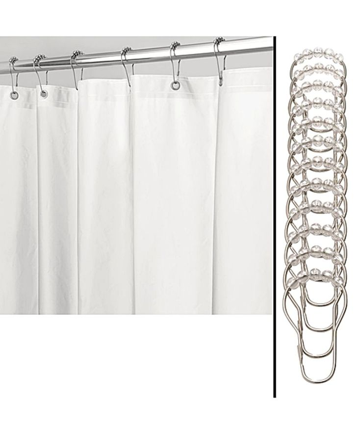 Best 25+ Farmhouse shower curtain rings ideas on Pinterest ...