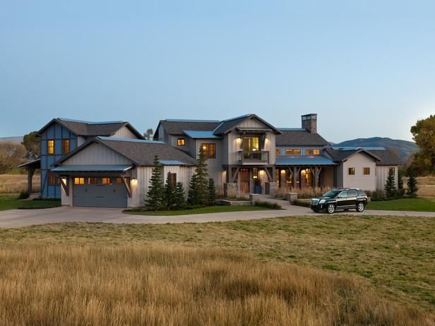 "So, I didn't win the HGTV 2012 Dream Home...but this ""Modern Rustic Ranch"" is still pretty close to my dream home."