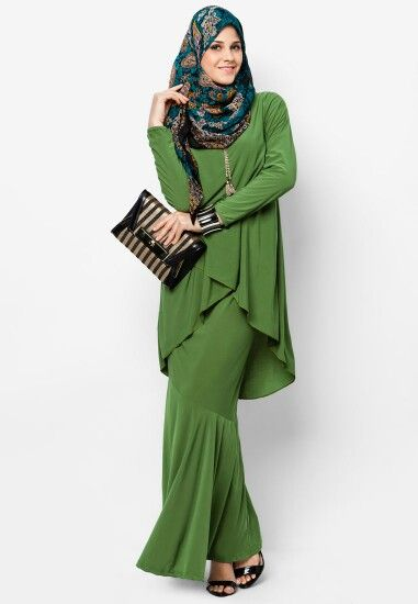#hijab#muslimah (love that tunic and skirt!!!)