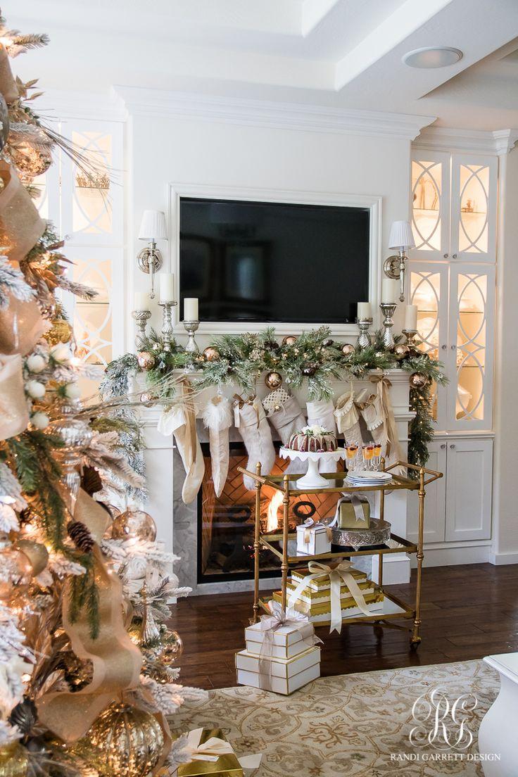 187 best Christmas ~ Mantels images on Pinterest | Noel, Apartment ...