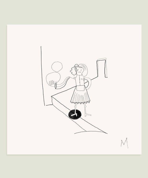 Excited to share the latest addition to my #etsy shop: #Womanfigure drawing #Surrealdrawing #Inkwallart #Wallart #Blackandwhite #Gicleeprint, #Surrealart #Penandinkdrawing #lineart  #art #print #giclee #white #housewarming #black #fineartprint #modernart #gicleeprint h