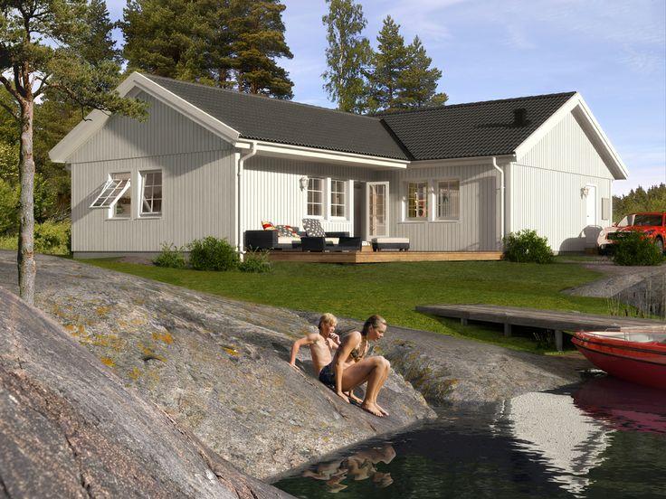 Älvsbyhus vinkelhus modell Ymer 125,8 m².
