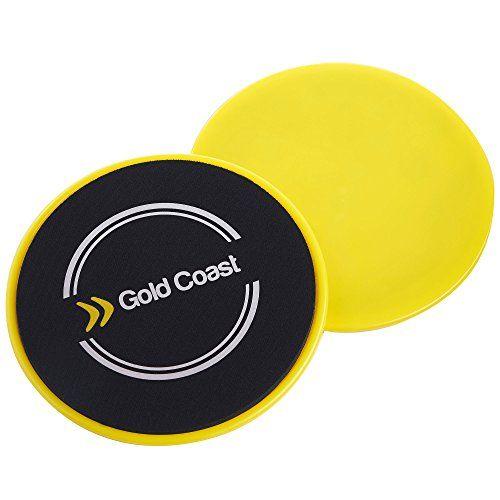 awesome Discos deslizantes para suelos duros y alfombras Gold Coast Core Exercise.