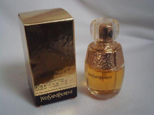 YSL-Yves-SAINT-LAURENT-miniature-parfum-perfume-Au-choix-Opium-Y-Paris-Champagne