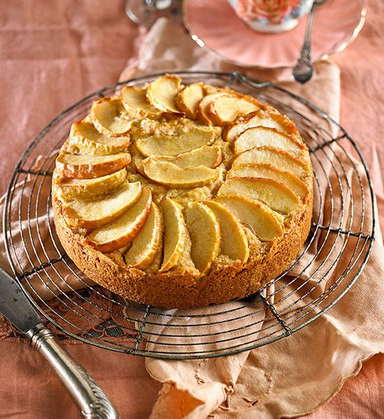 Apple tea cake: A slice a day might not keep the doctor away, but this beautiful apple cake will definitely give your sweet tooth a reason to smile!