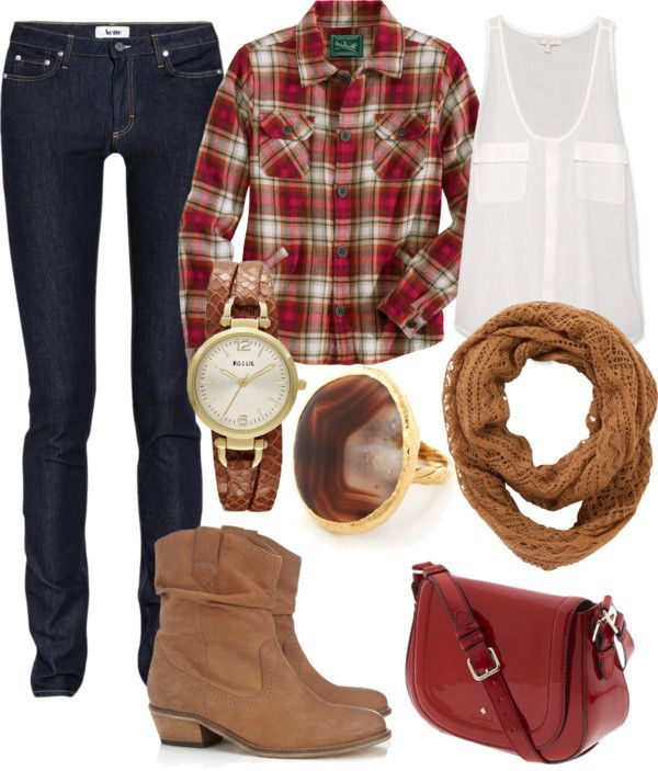 The Lovely Side: Flannel Friday: 8 Ways to Style a Fall Favorite