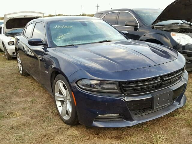 Salvage 2016 Dodge Charger Rt Sedan For Sale   Flood Title