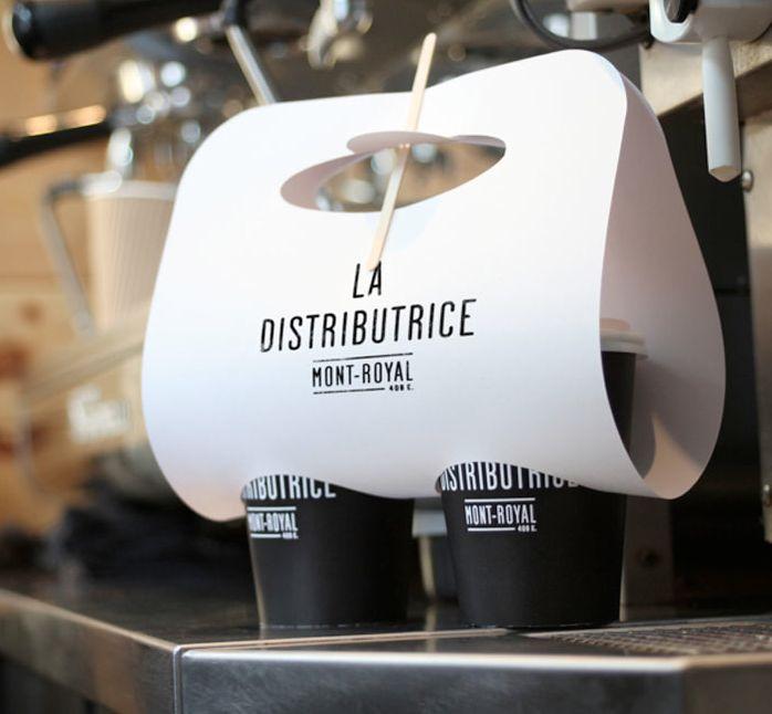 La Distributrice coffee shop take away