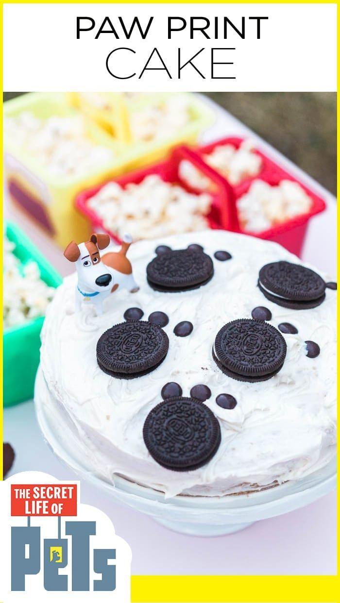 Das Geheime Leben Der Haustiere Watch Party In 2020 Birthday Cakes For Men Party Nachtisch Dessert Party