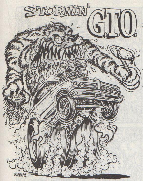 119 best Ed Big Daddy Roth art images on Pinterest Rat fink