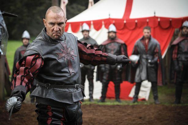 Vinnie Jones in The Musketeers as vicious killer Labarge - Mirror Online