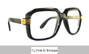 Telly Big Square Clear Lens Glasses - 302 Black