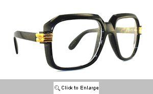 Telly Big Square Clear Lens Glasses - 302 Black