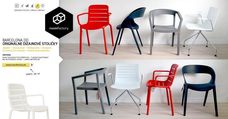 Spoznajte svieže novinky v našej ponuke! Originálny španielsky dizajn aj výroba. Pohodlné, stohovateľné, či konferenčné. S UV ochranou vhodné aj na slnečnú terasu, na ktorej práve chcete sedieť.
