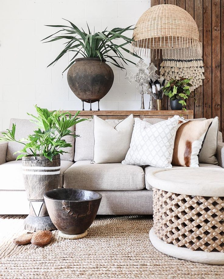 Village - Wild Calling  The harmony of this space is well balanced with earthy-neutral tones fabrics & textures. Using oversized feature pieces always creates impact to a room.  Featured: Hudson 3 Seater Sofa Clay Pot Barbados Pendant & Bamileke Table.  Explore our products online & in stores today.  Showrooms: Bundall & Burleigh Online: http://ift.tt/1fF14Cc by villagestores