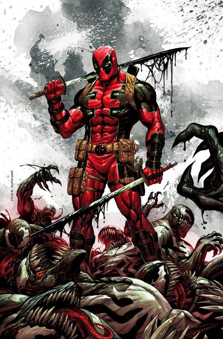 The Venom Site: deadpool kills the marvel universe again - 'venomize this' variant